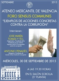 Foro Sensus Communis -30 septiembre