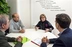 1 Conxa García se reúne con secretarios foto_Abulaila (1)