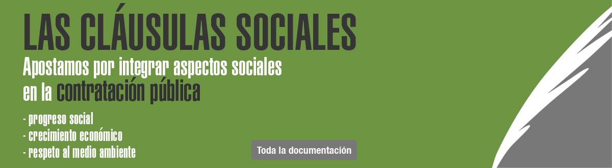Banner clausul social