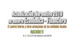 """Participa en el curso sobre """"Actualización Normativa 2019 en materia Económico-Financiera: El control interno y otras actuaciones en materia económico financiera de las Entidades Locales"""""""